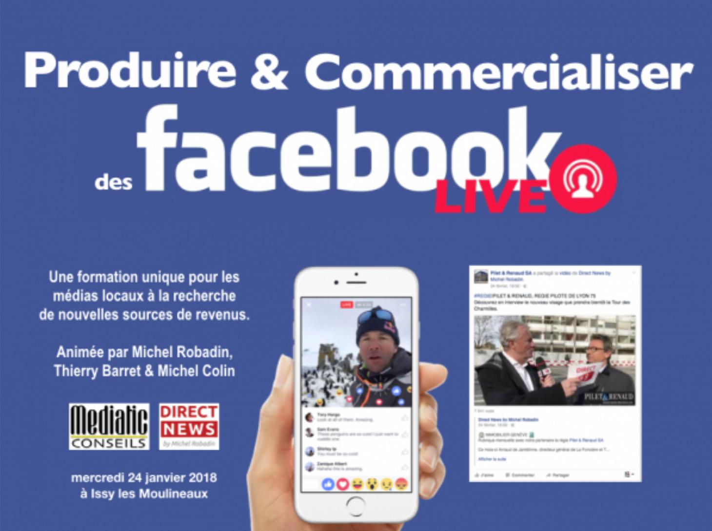 """Apprenez à vendre des offres """"Radio + Facebook"""""""