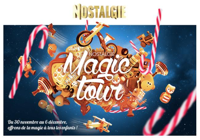 """Belgique : le """"Nostalgie Magic Tour"""" est de retour"""
