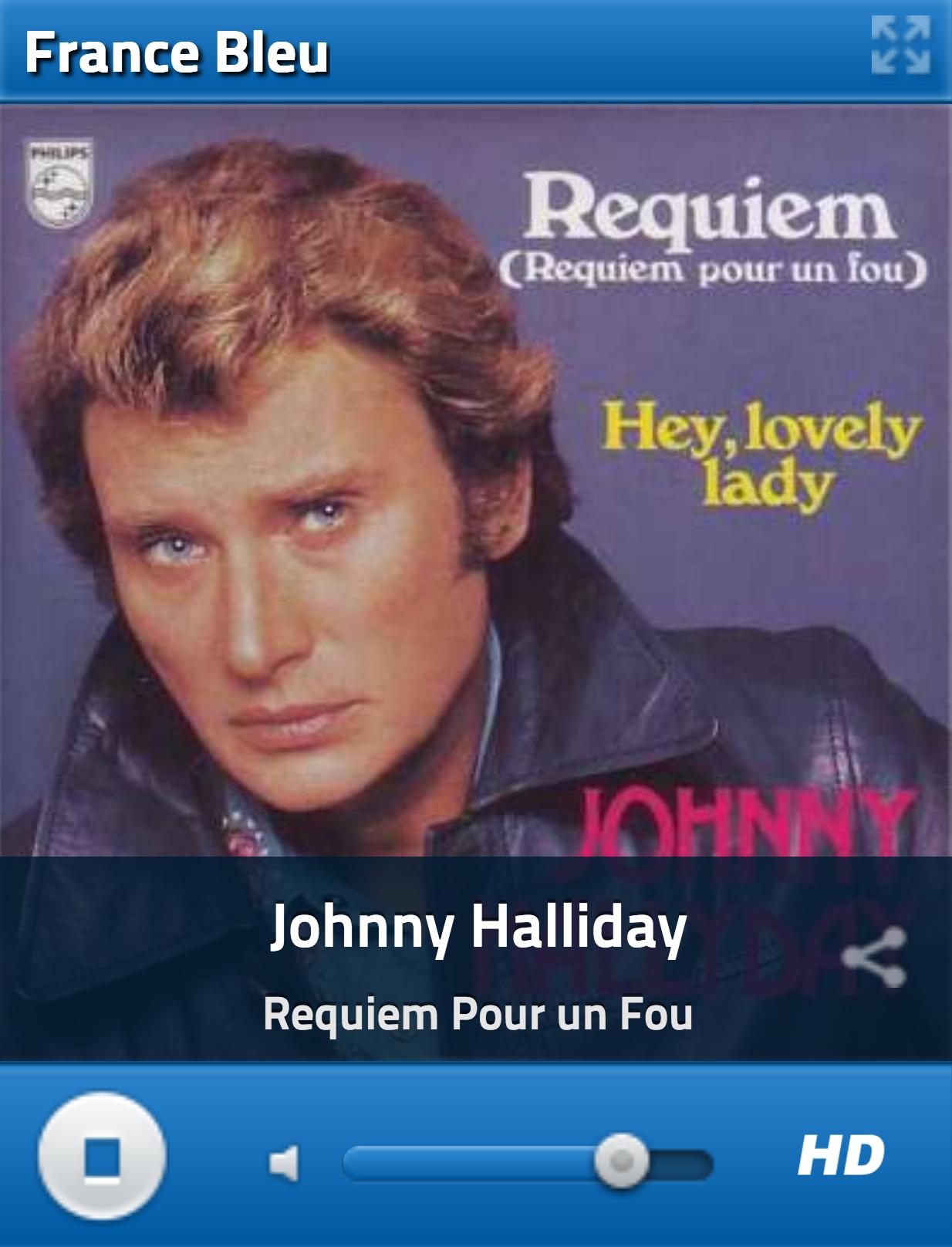 Pour écouter la webradio dédiée à Johnny Hallyday, cliquez ICI
