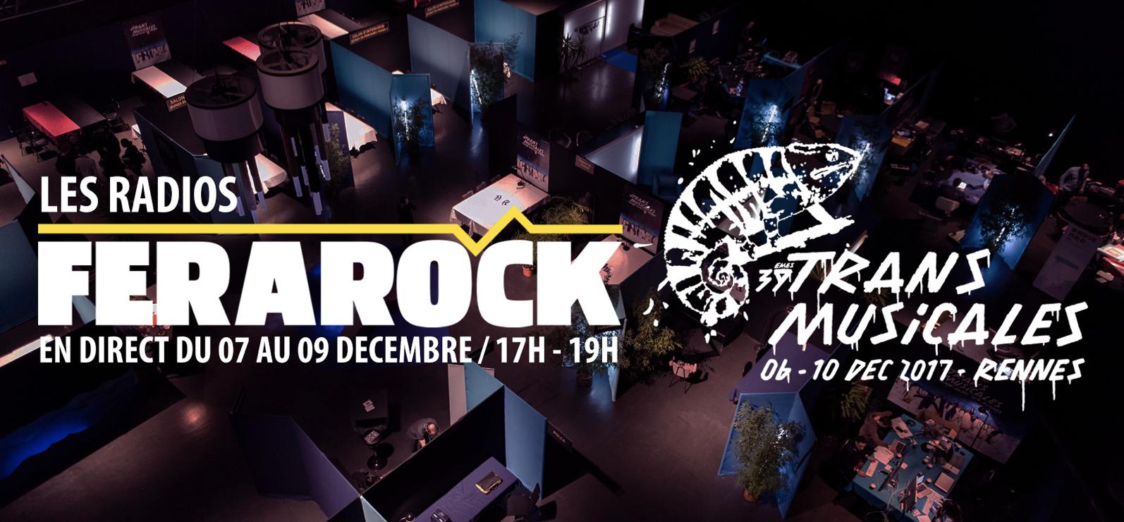 Les radios de la Ferarock en direct de Rennes