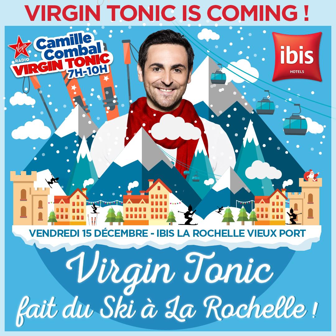 Ambiance montagnarde sur Virgin Radio