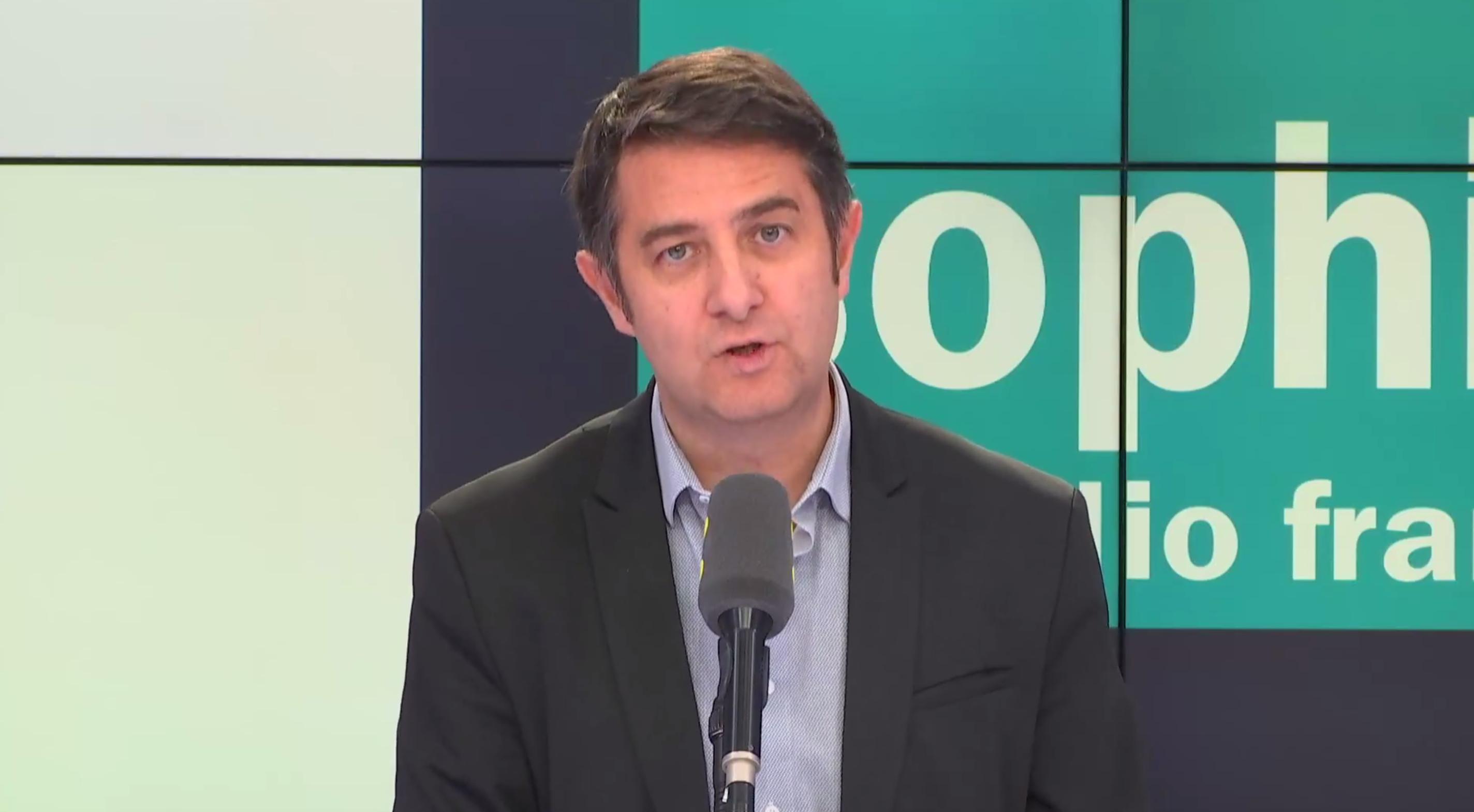 Laurent Guimier, directeur délégué aux antennes et aux contenus de Radio France.