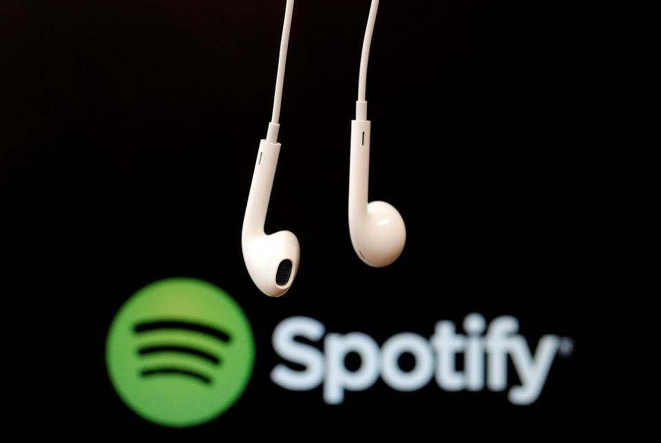 Spotify, leader du streaming musical.