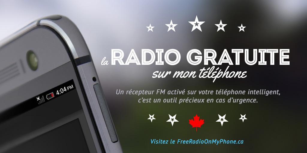 Les Canadiens réclament l'activation de la FM sur leurs Smartphones