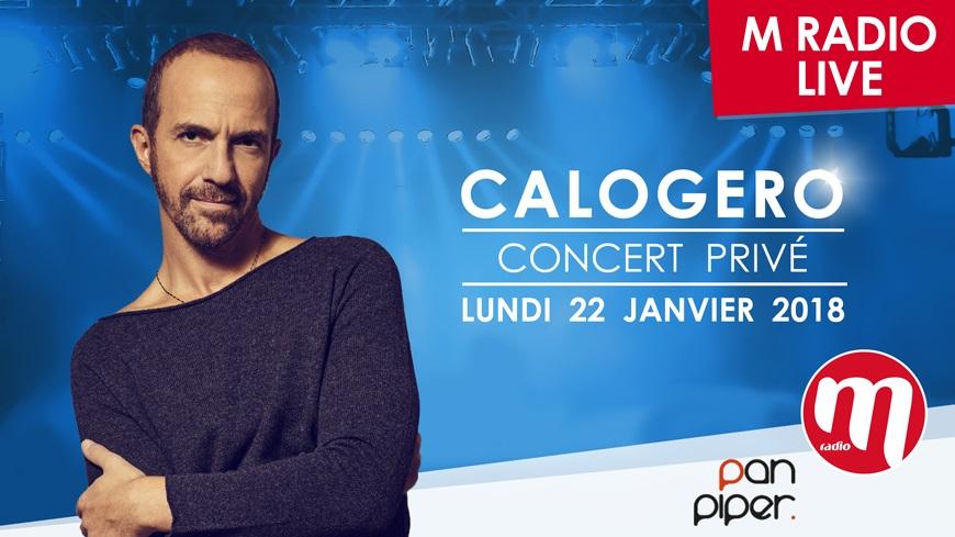 """M Radio prépare un """"M Radio Live"""" avec Calogero"""