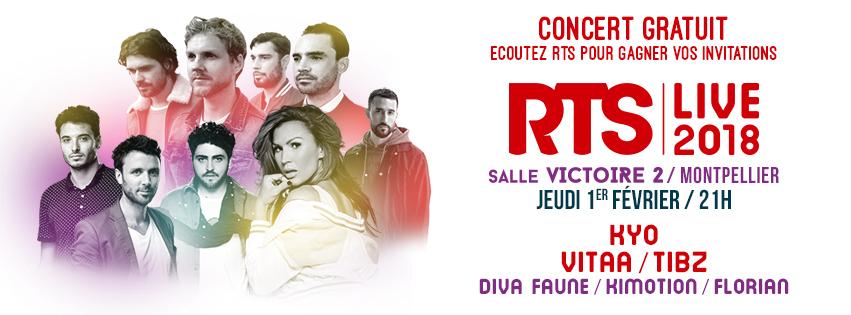 """RTS organise son premier """"RTS Live"""" de l'année 2018"""