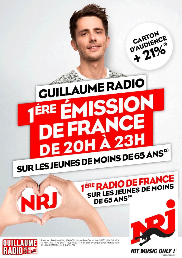 NRJ : première radio musicale de France