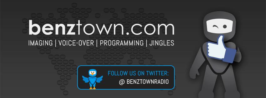 Le studio Benztown au Salon de la Radio