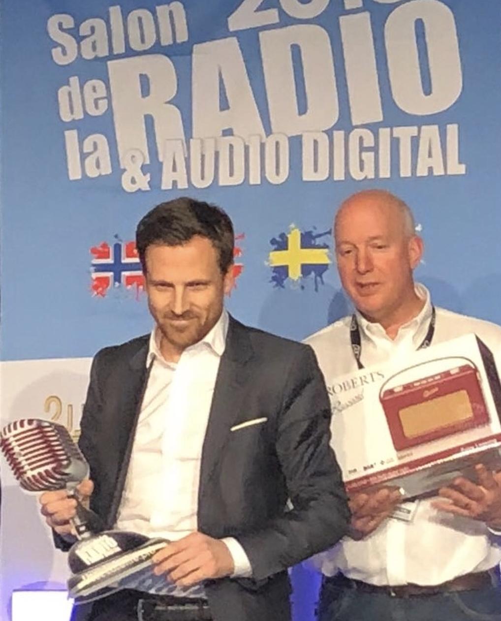 M Radio reçoit le Grand Prix Radio 2018 de la radio musicale