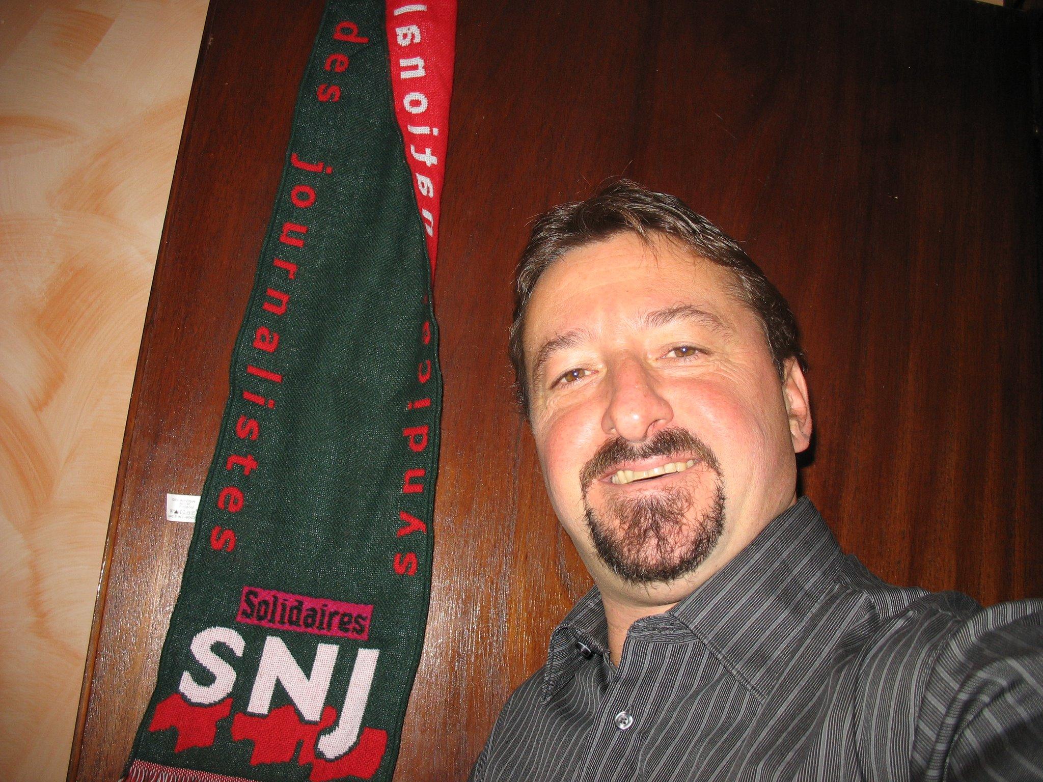 Vincent Lanier milite pour que les salariés des radios privées se syndiquent. © SNJ