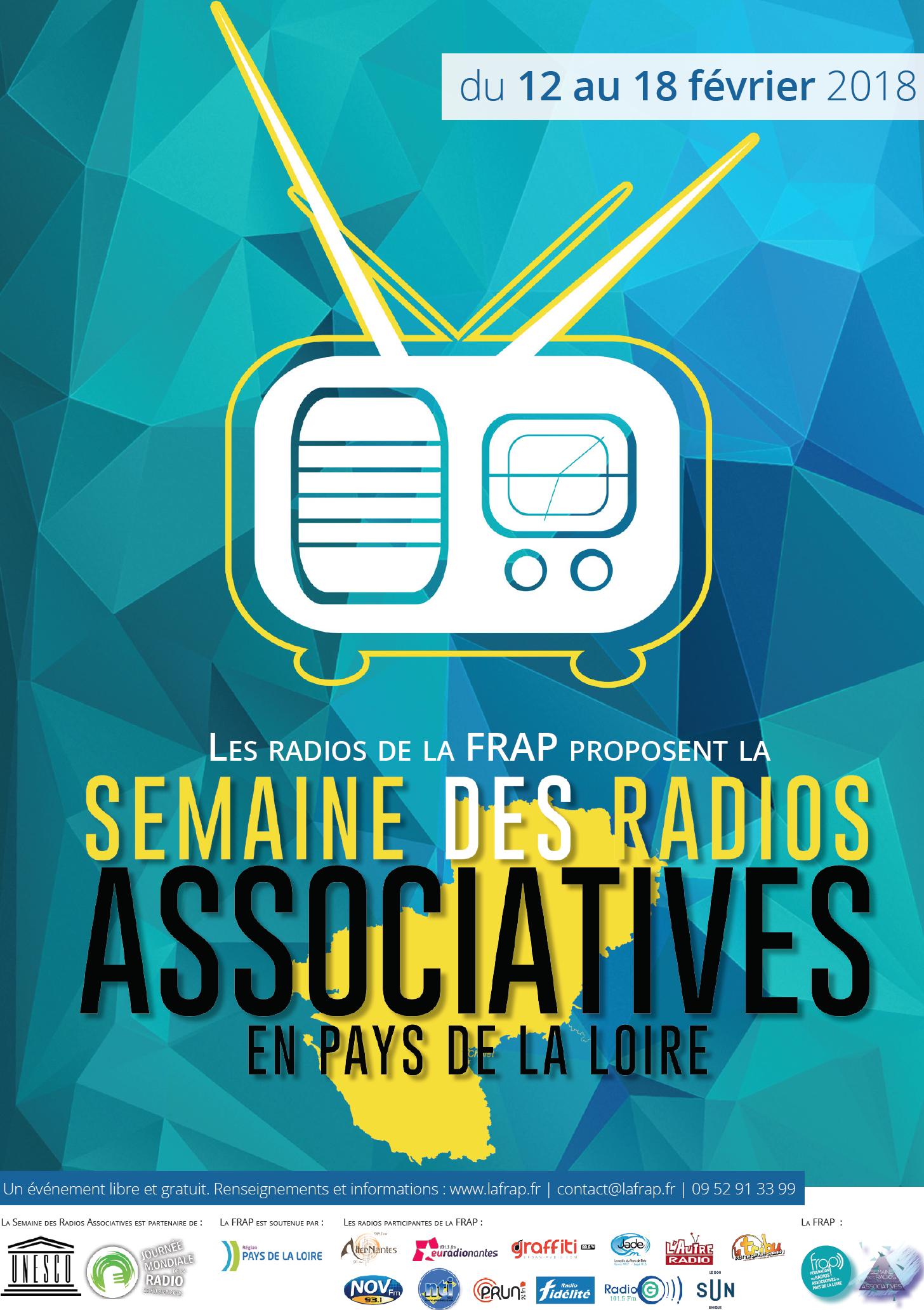 """Une """"Semaine des Radios Associatives"""" avec la FRAP"""
