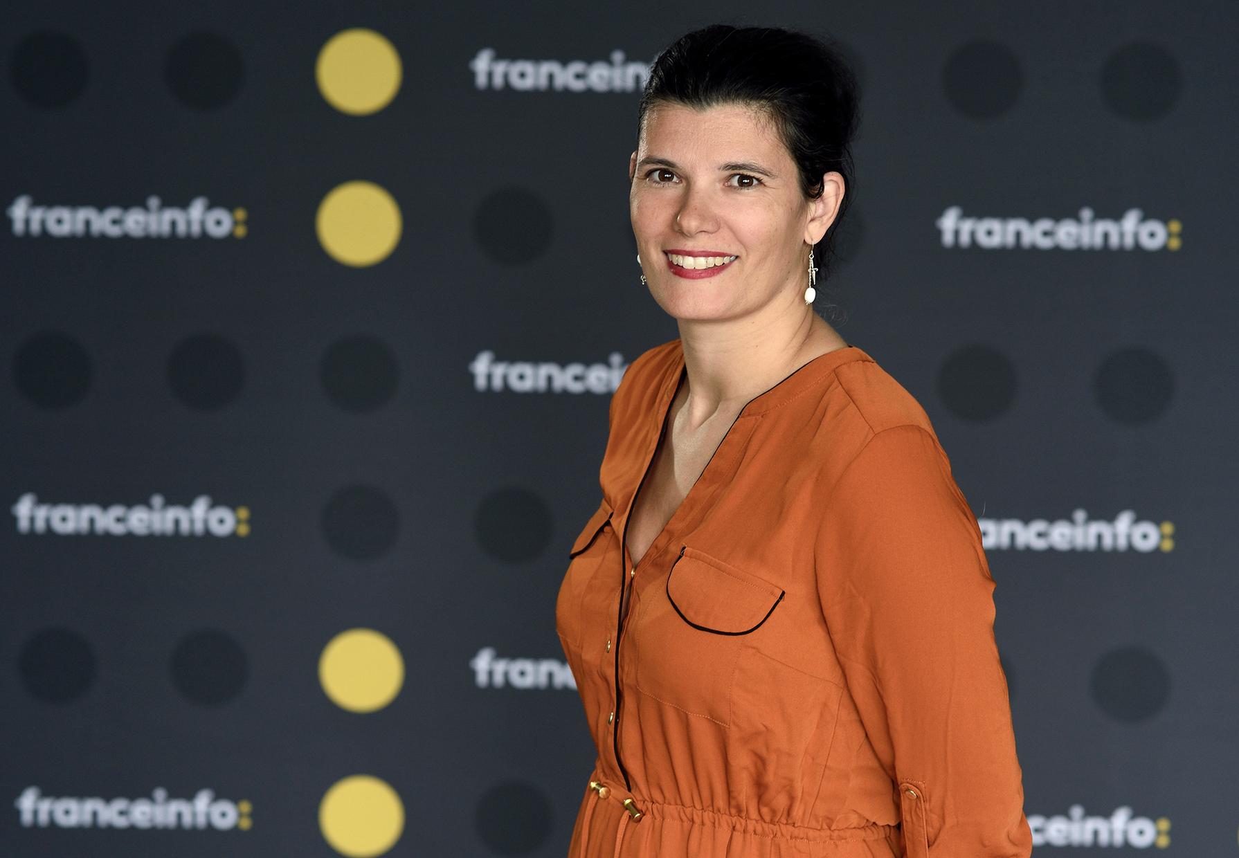 Estelle Cognacq est la directrice adjointe de l'agence franceinfo © Christophe Abramowitz / Radio France