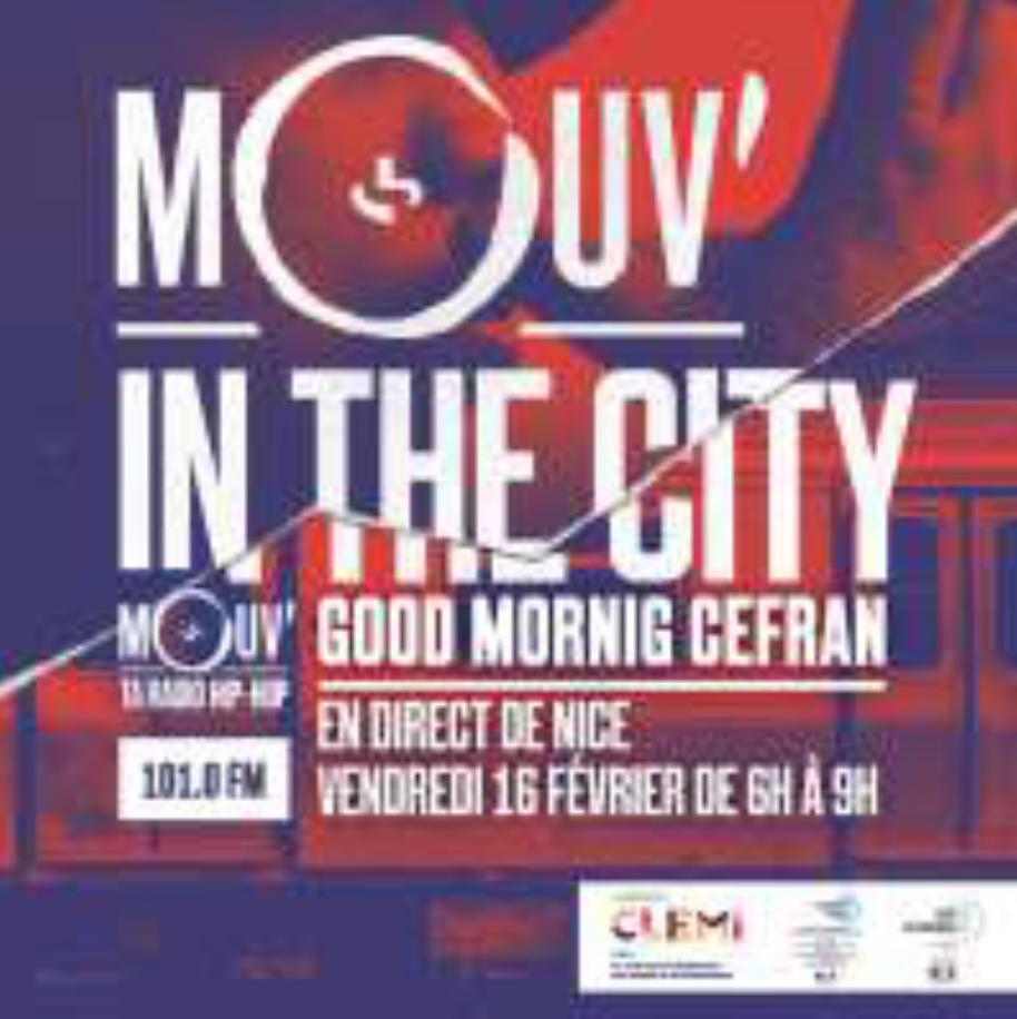 La matinale de Mouv' en direct d'un lycée à Nice