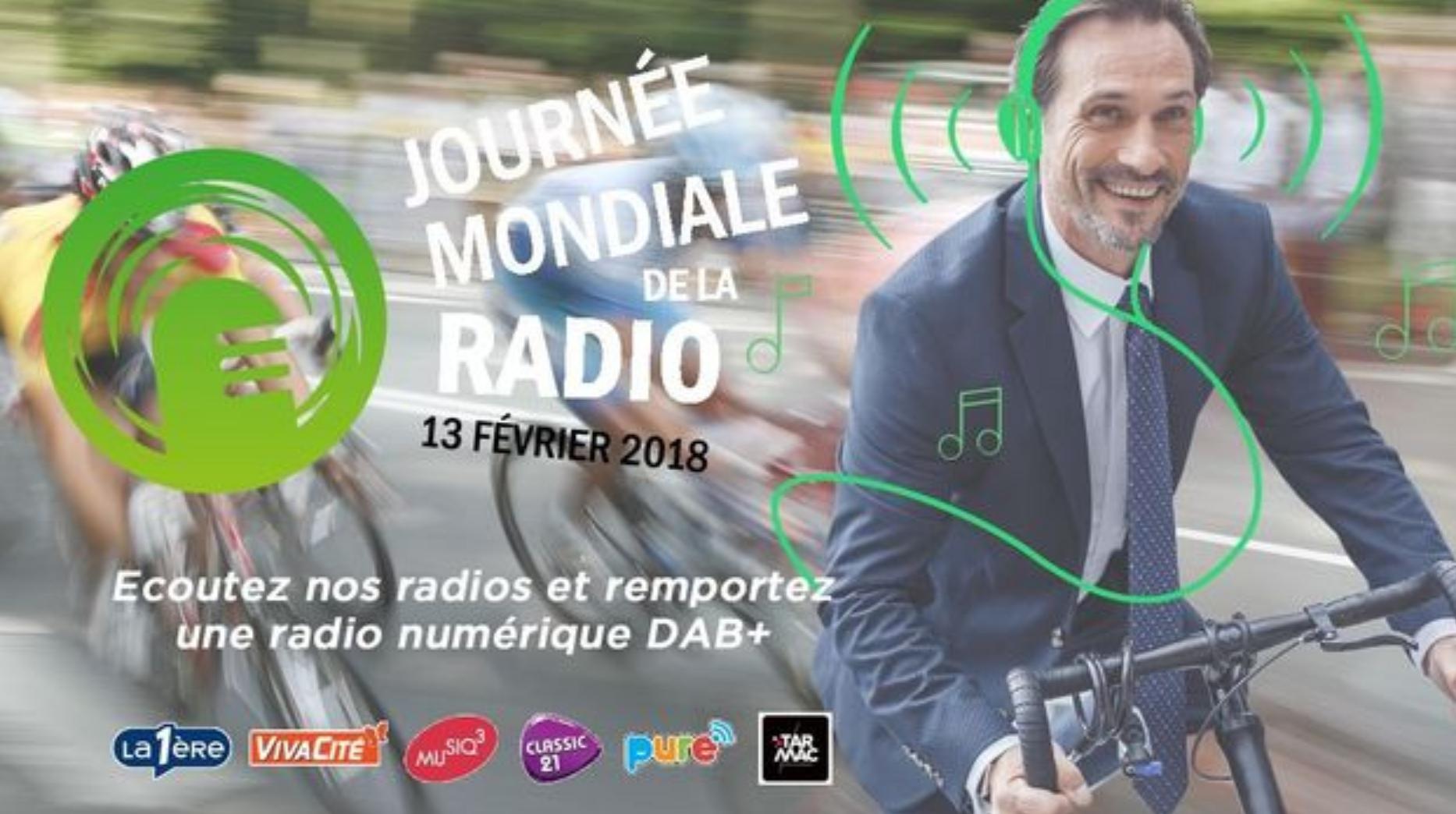 Les radios de la RTBF célèbrent la Journée mondiale de la radio