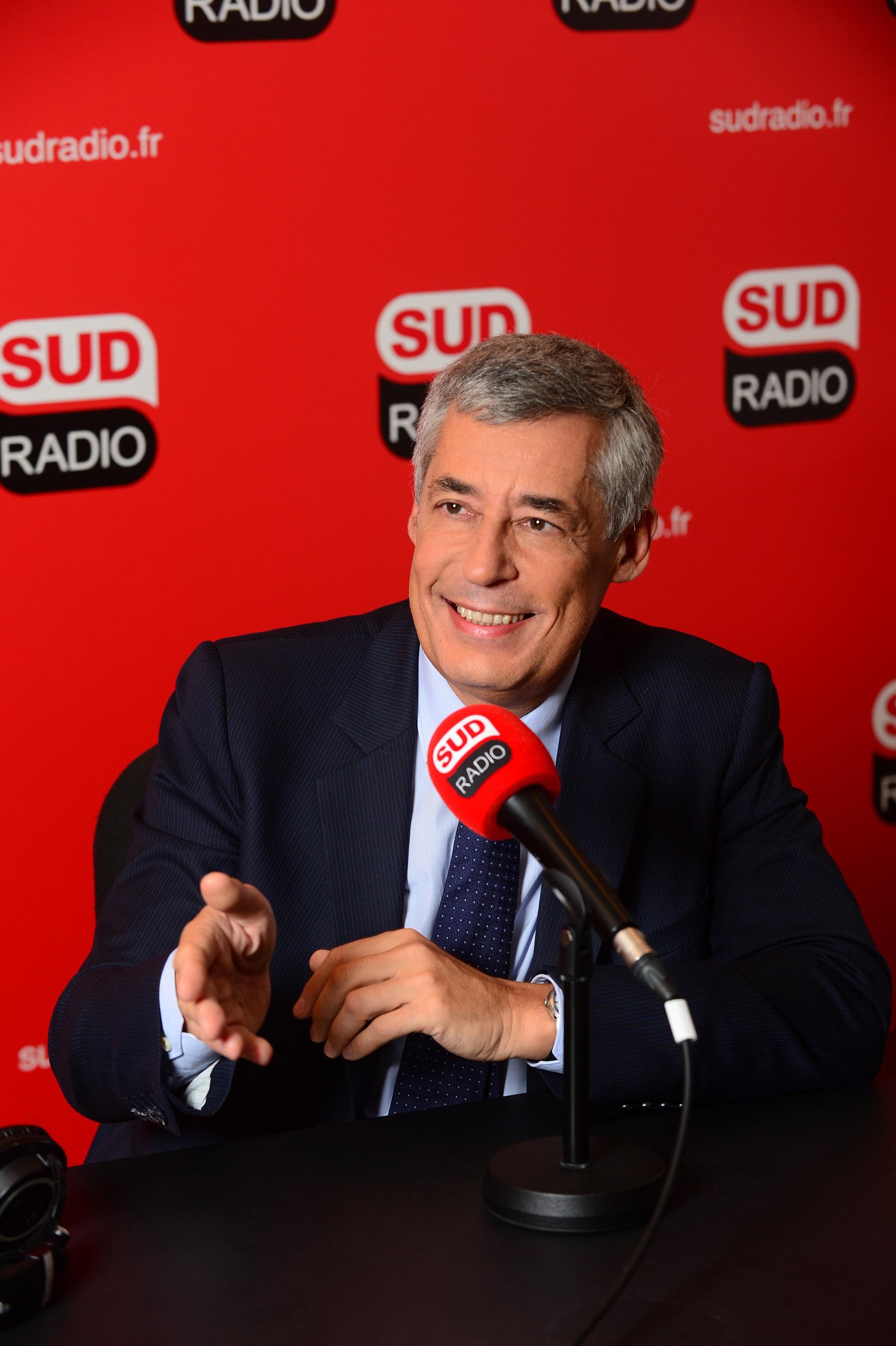 Henri Guaino au micro de Sud Radio - Henri Ghnassia