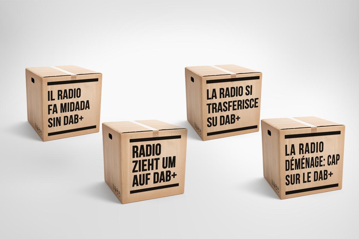 En Suisse, l'utilisation du DAB+ continue d'augmenter