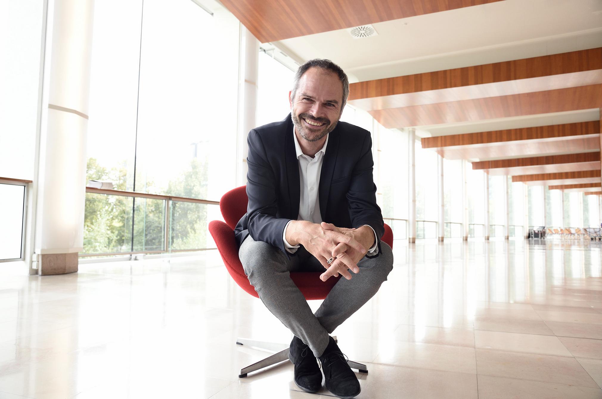 Romain Beignon dirige le service diversification © Christophe Abramowitz