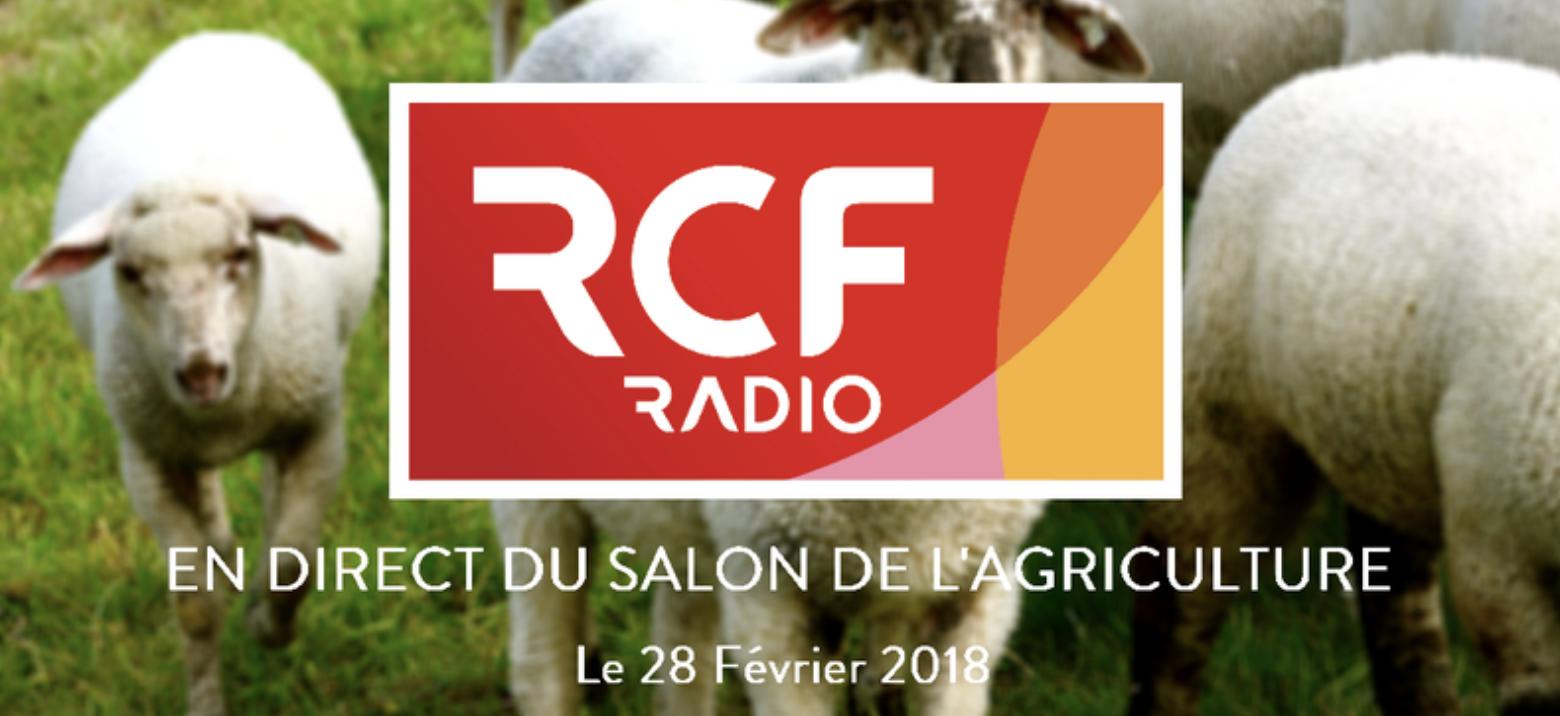 RCF en direct du Salon de l'Agriculture dans toute la région Auvergne Rhône-Alpes