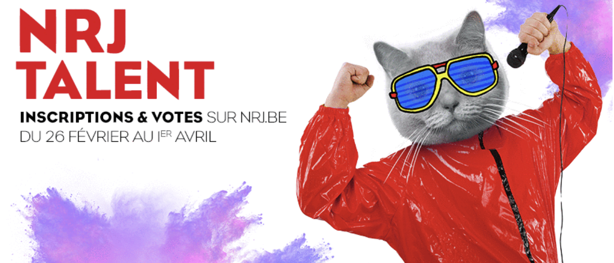 "Belgique : qui sera le ""NRJ Talent"" 2018 ?"