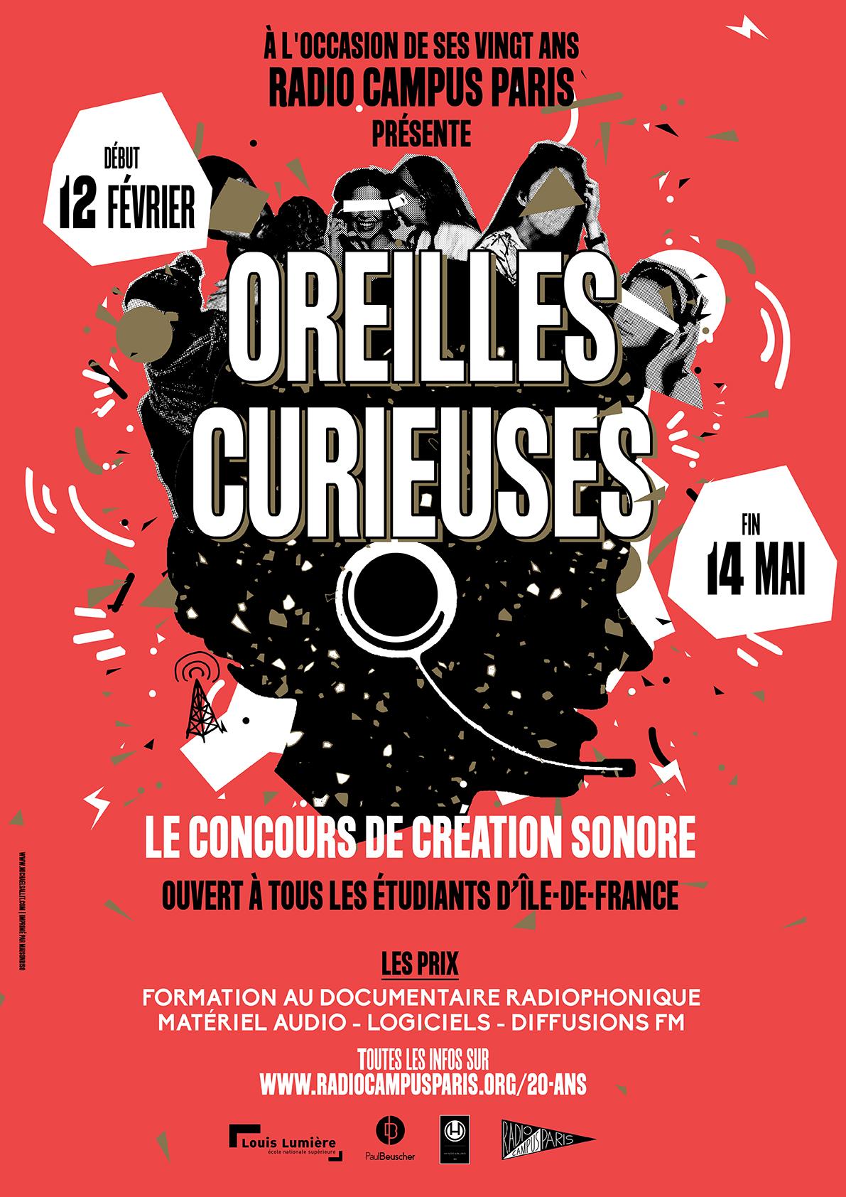 """Radio Campus Paris : avez-vous les """"oreilles curieuses"""" ?"""