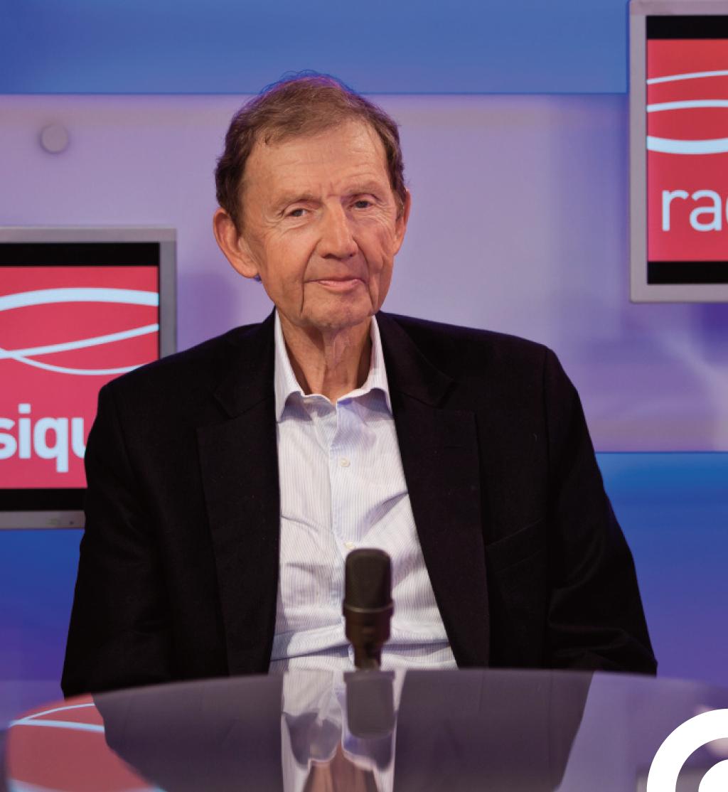 Passé par TF1 ou encore par le quotidien Le Figaro, Étienne Mougeotte avait été nommé directeur général de Radio Classique en 2012 © Emmanuel Donny