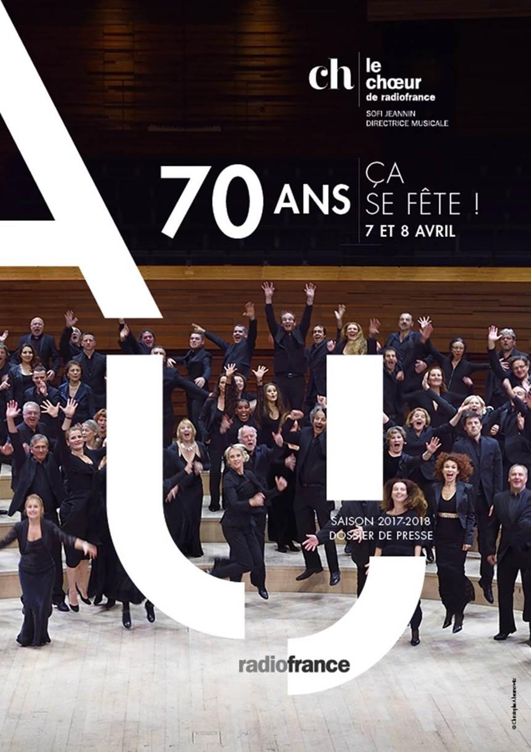 Le Choeur de Radio France fête ses 70 ans