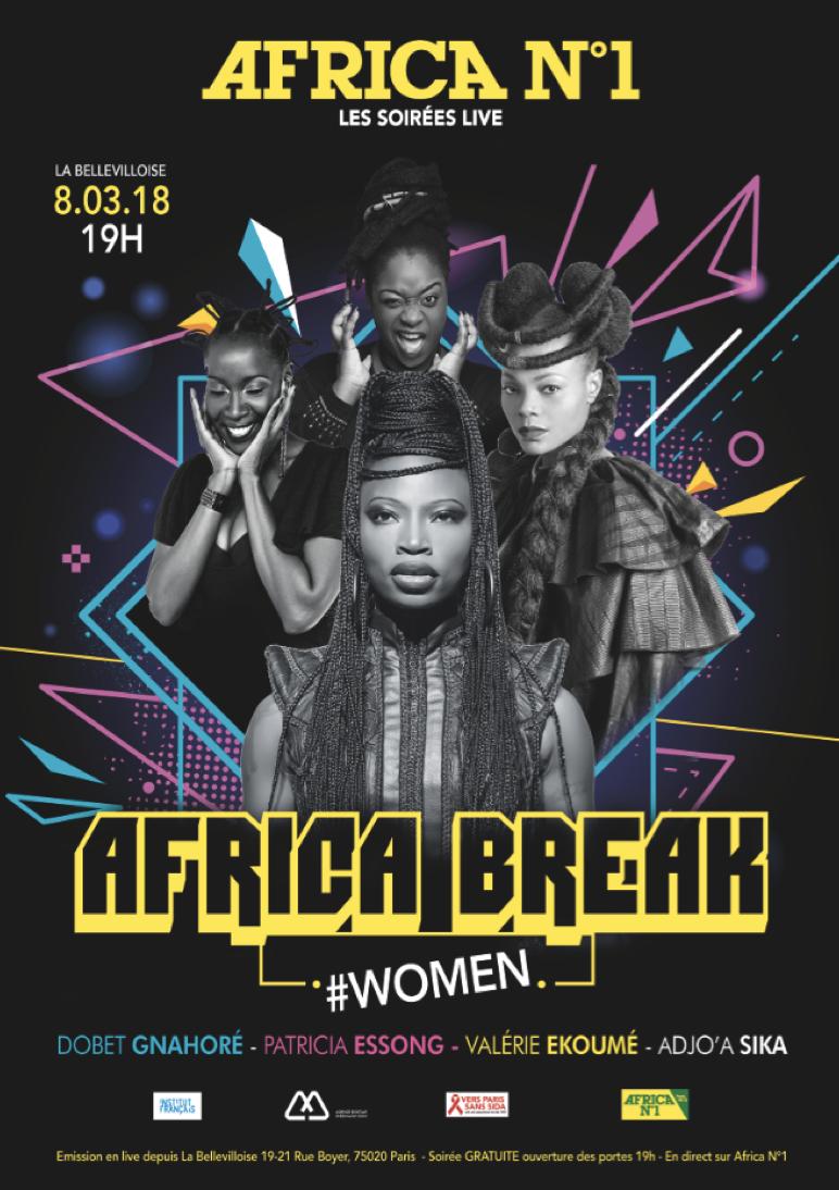 """Soirée musicale spéciale """"Femmes d'Afrique"""" sur Africa N°1"""