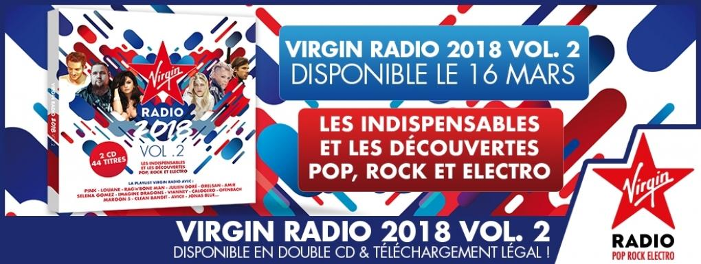 Parution de la compilation Virgin Radio 2018