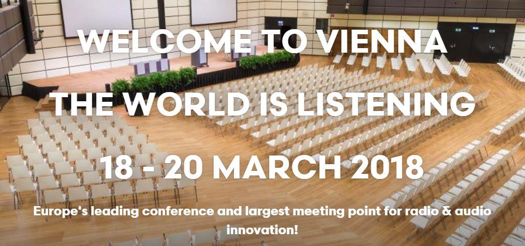 Radiodays Europe investit l'Austria Vienna Center