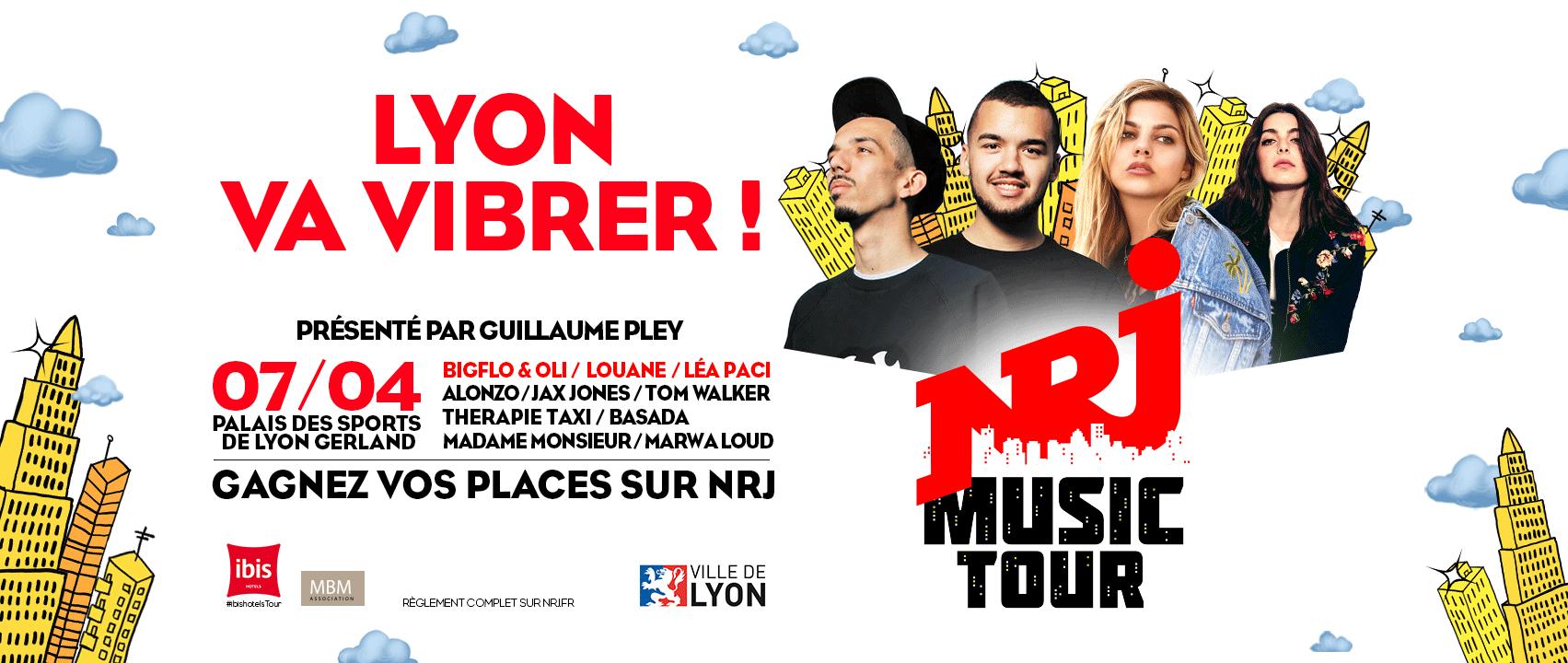 Le NRJ Music Tour fait étape à Lyon
