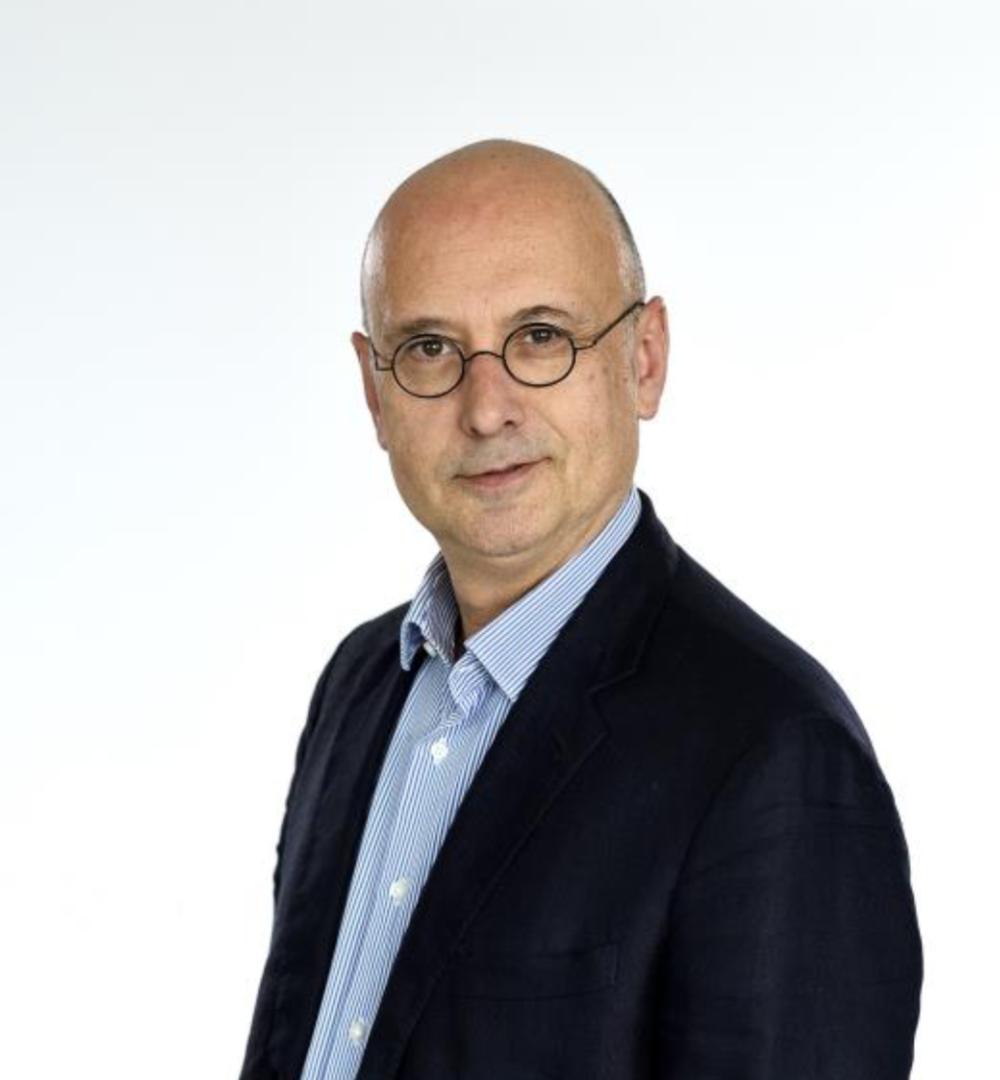 Jean-Jérôme Bertolus, chef du service politique de franceinfo
