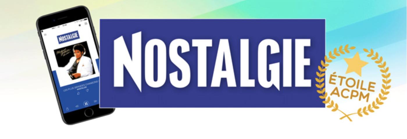 Nostalgie reçoit le Prix de l'Étoile 2018 de l'ACPM