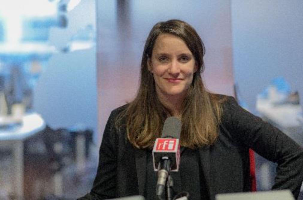 Charlotte Lalanne, étudiante en journalisme à l'IPJ, lauréate du Prix RFI Charles Lescaut 2018