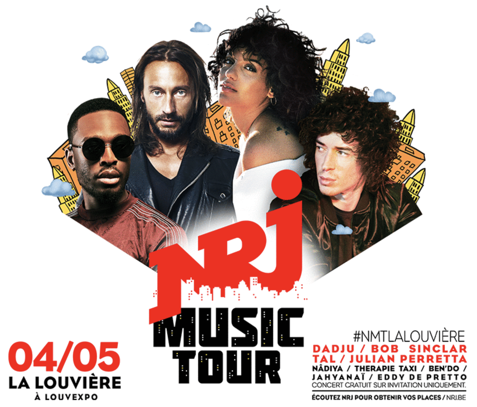 Nouveau concert NRJ Music Tour en Belgique