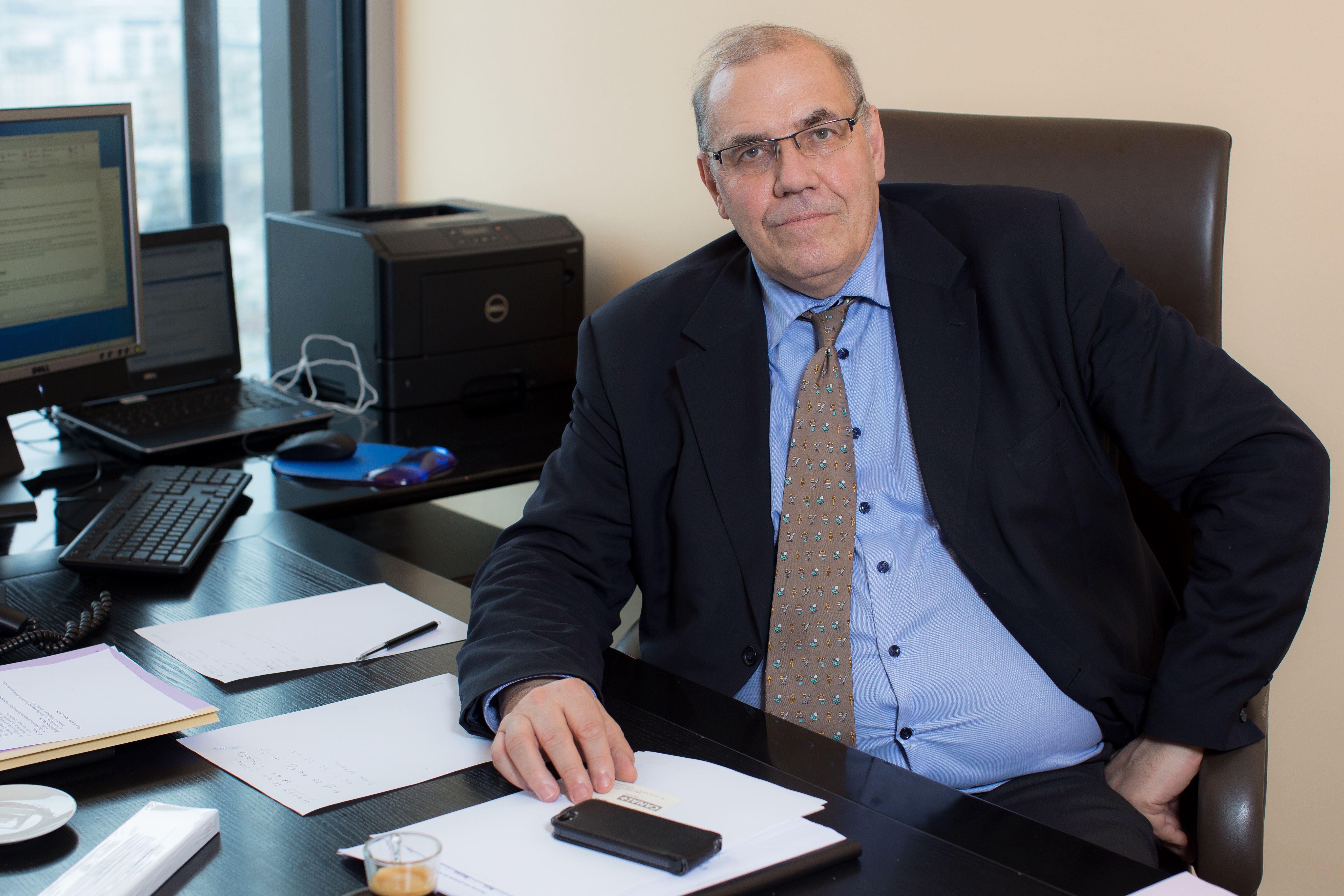 Le conseil Nicolas Curien a remplacé Olivier Schrameck pendant 3 mois. © Romuald Meigneux