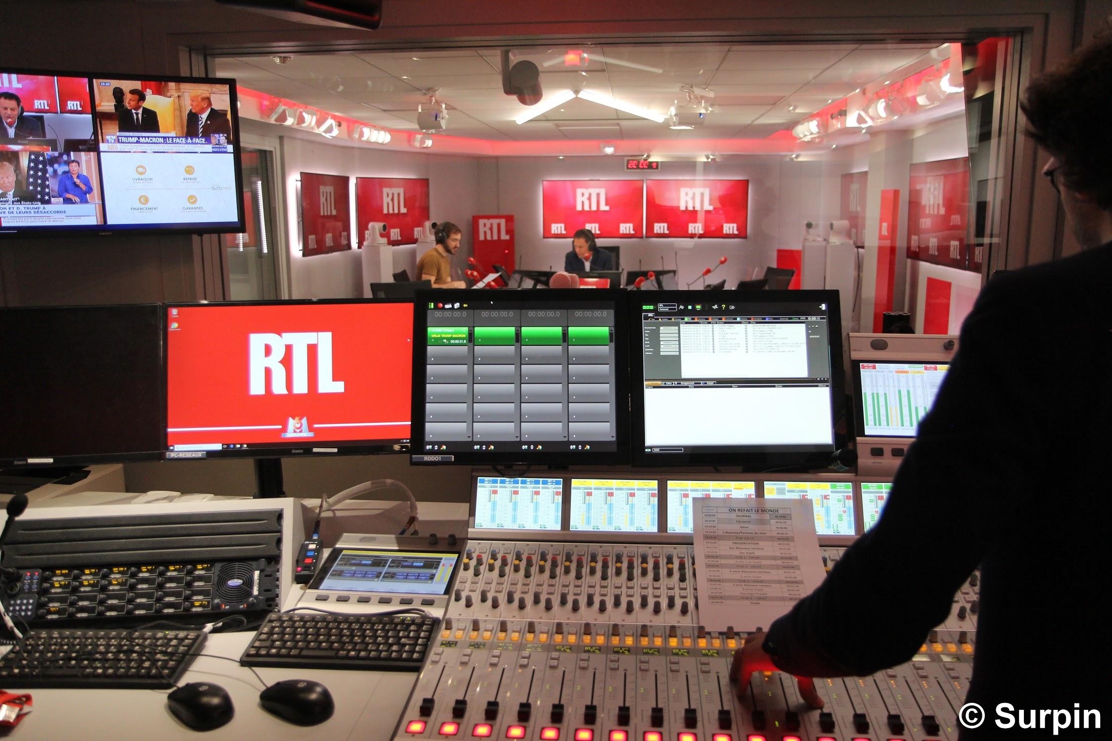 Inauguration des nouveaux locaux de RTL