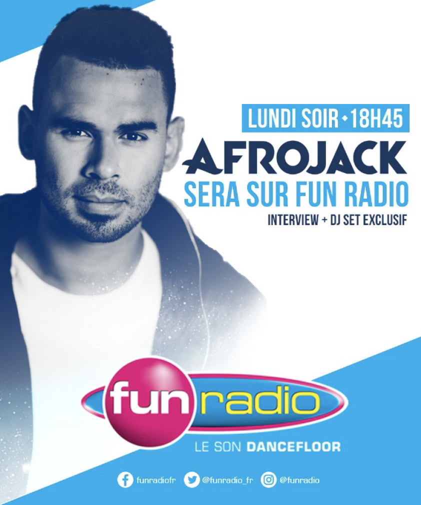 "Afrojack invité du ""Before Party Fun"""