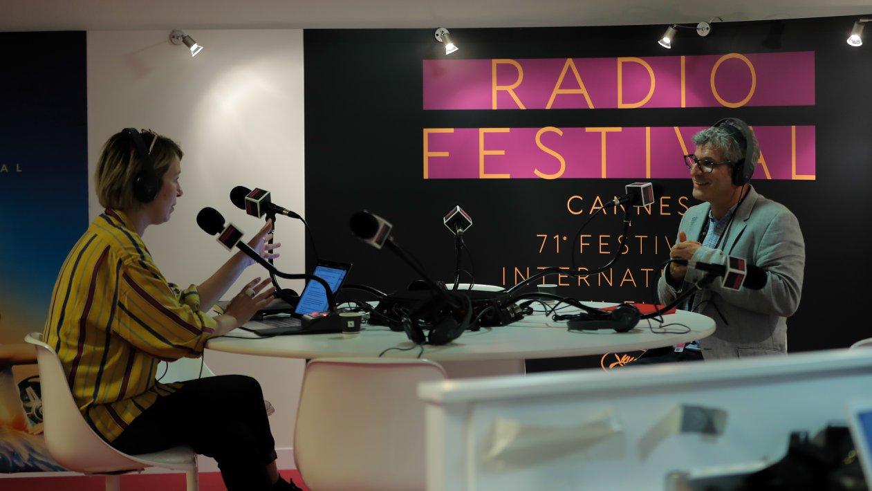 """Le Festival de Cannes a aussi lancé """"Radio Festival"""""""