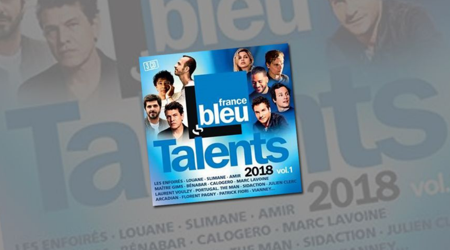 "Parution de la compilation ""Talents France Bleu 2018 vol.1"""