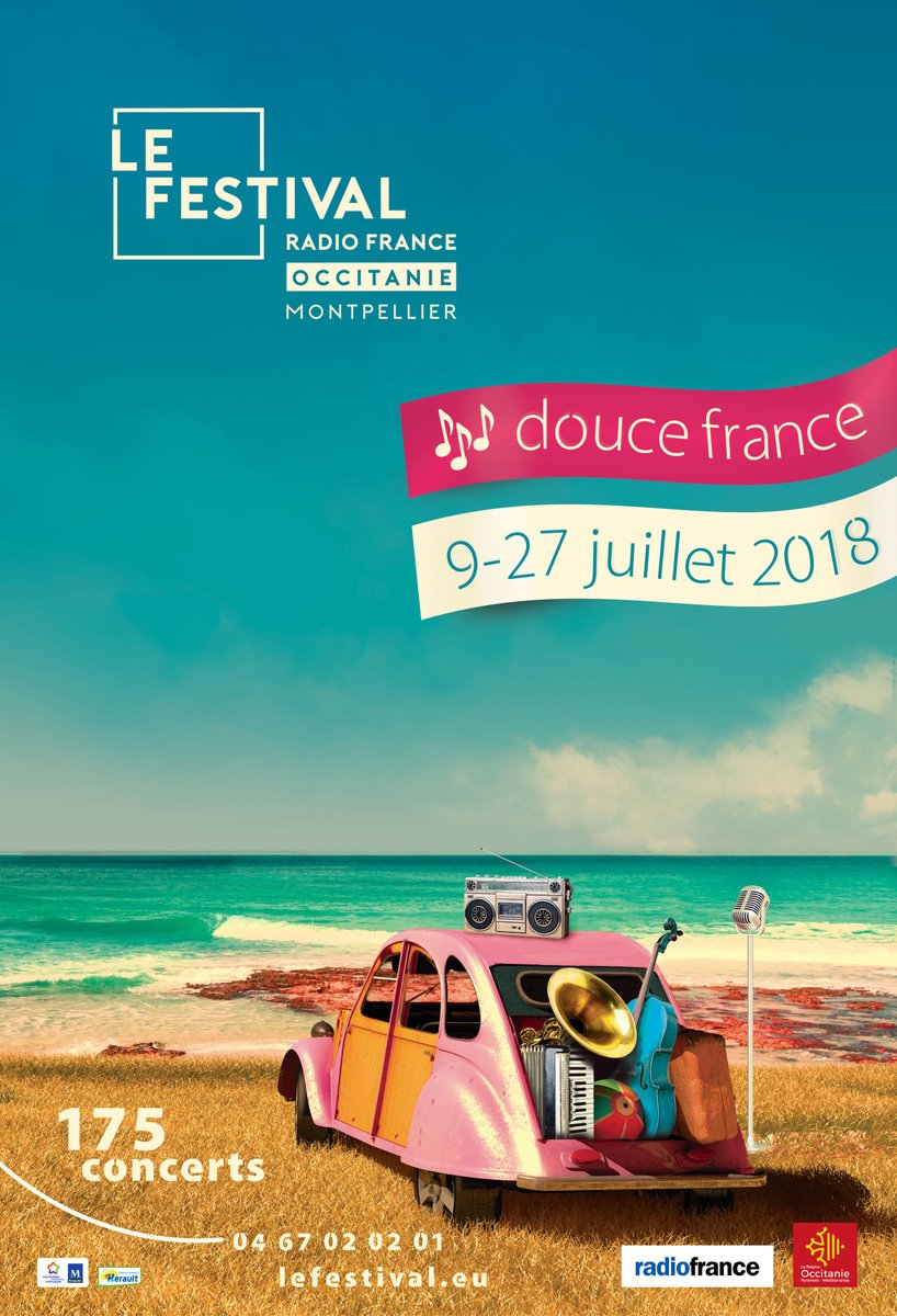 Le Festival Radio France Occitanie Montpellier célébrera la France