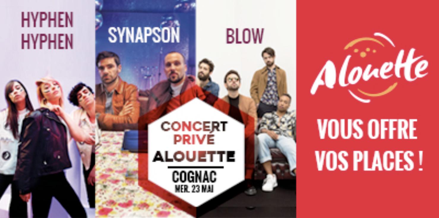 """Nouveau """"Concert Privé"""" pour Alouette à Cognac"""