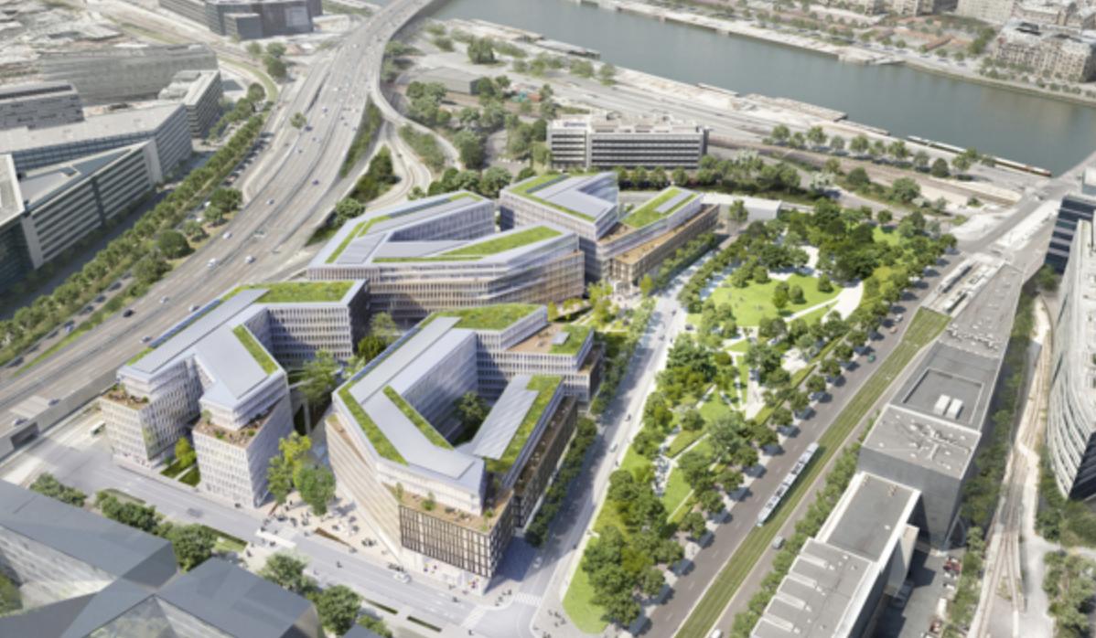 SFR, L'Express et Libération ont déjà emménagé dans le Altice Campus, avant RMC et BFM à l'automne
