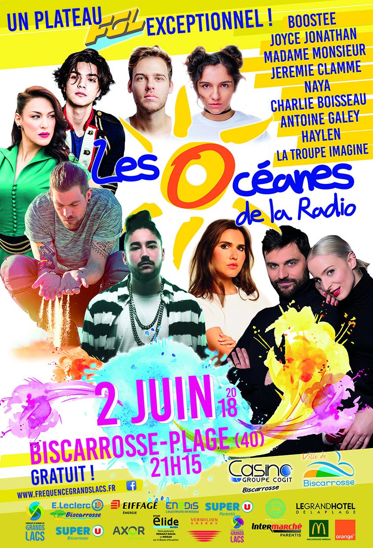 """De nouveaux artistes attendus aux """"Océanes de la Radio"""""""