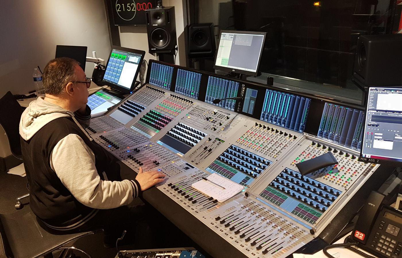 RTL choisit la console Studer Vista X