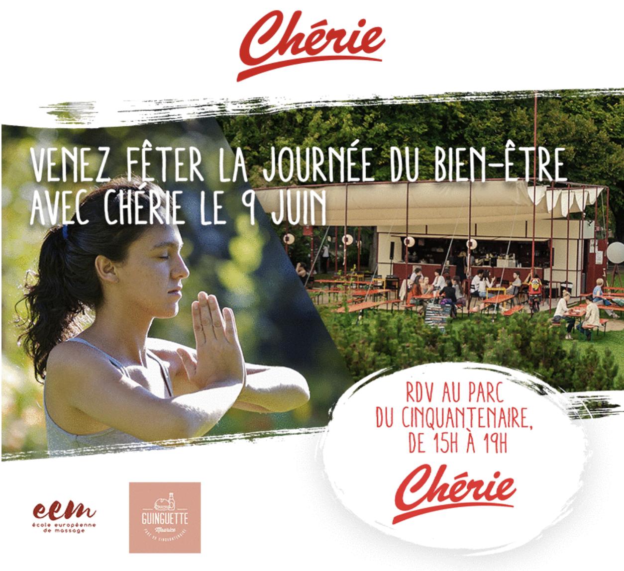 Belgique : Chérie invite ses auditeurs à fêter le bien-être