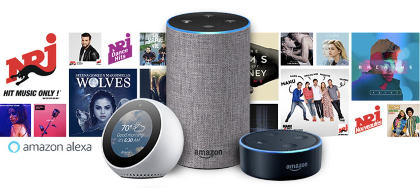 NRJ en accès direct sur Amazon Alexa