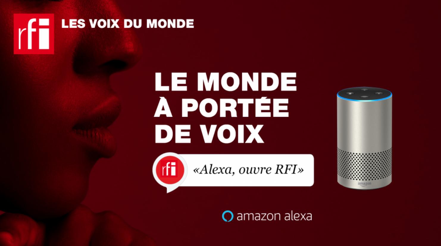 RFI désormais disponible via Alexa