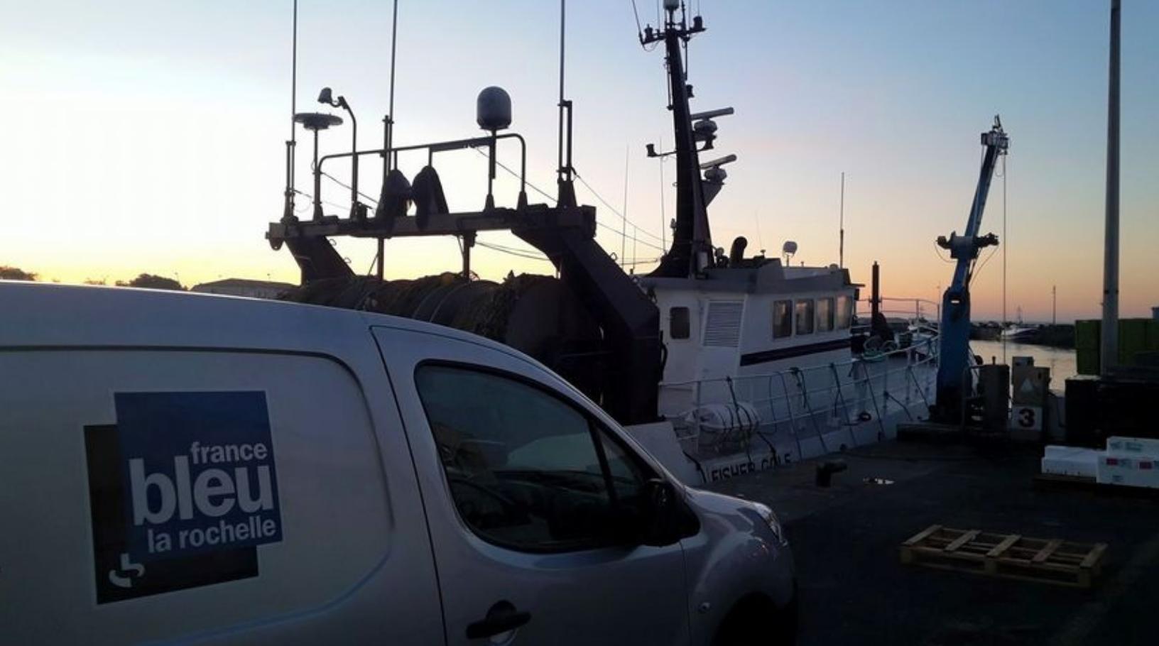 De bon matin, en direct du Port de la Cotinière sur l'Île d'Oléron © France Bleu la Rochelle