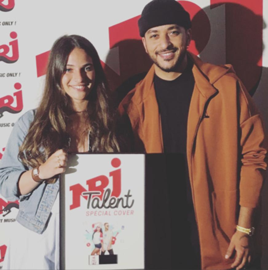 """Philippine remporte le concours """"NRJ Talent - Spécial Cover 2018"""""""