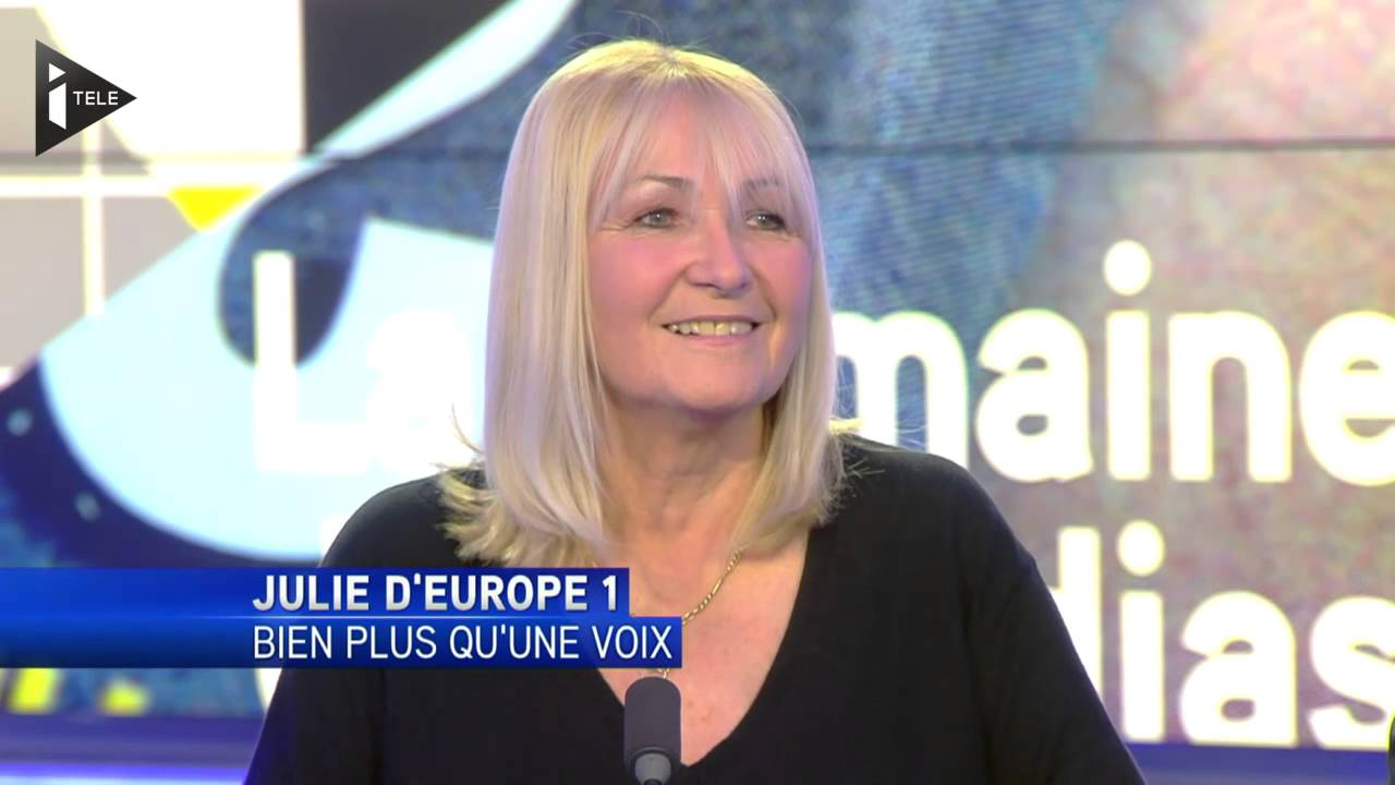 Julie Leclerc est entrée à Europe 1 en 1976 / Photo capture YouTube